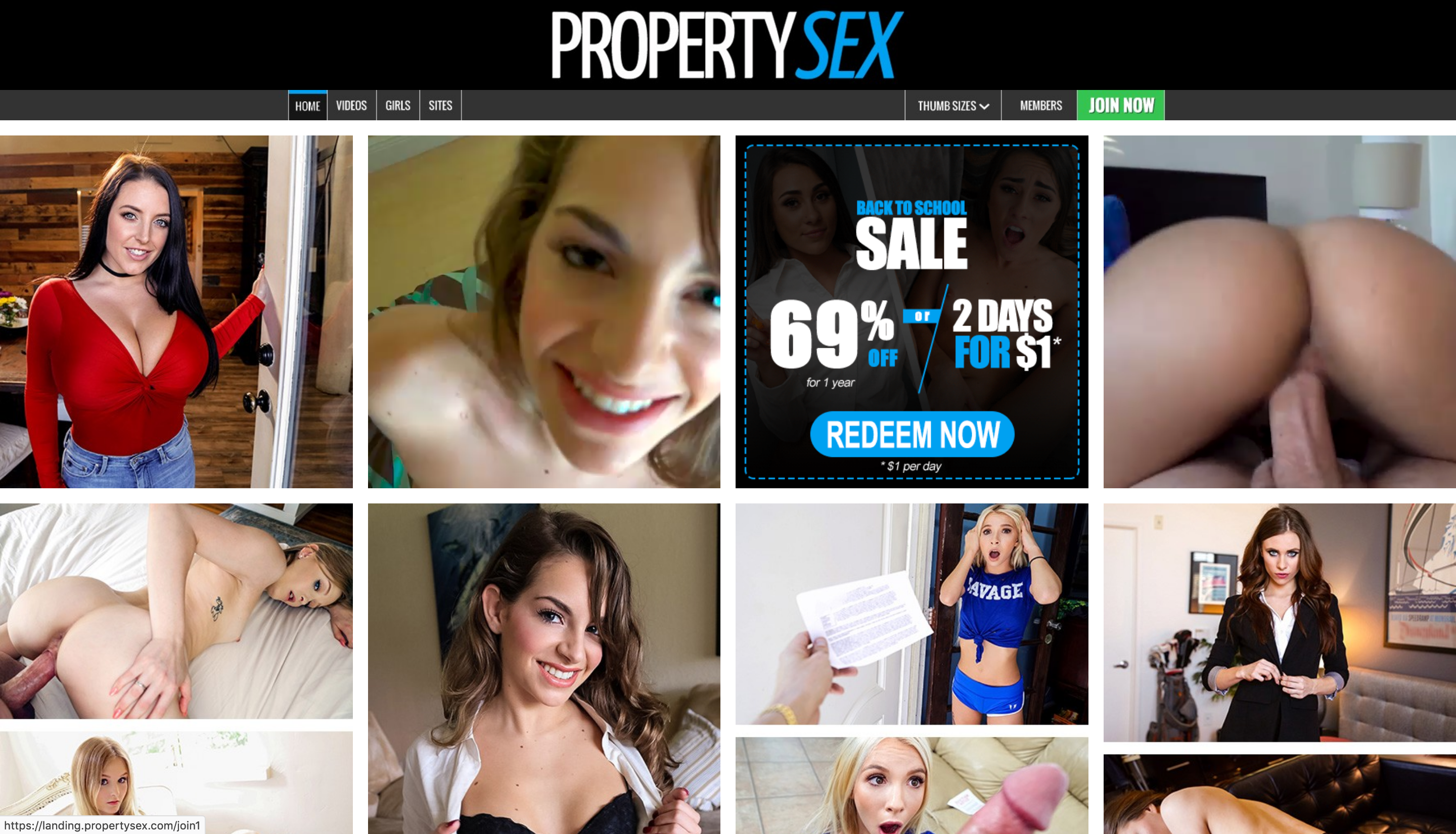 PropertySex: who has never dreamed of fucking the real estate agent? On this site you can find a large selection of premium HD videos where horny real estate agents get fucked by their customers in other people's homes. Huge cocks come into the narrow vaginas of these beautiful MILFs. Maybe it's the only way they know to convince customers to buy houses. Who wouldn't buy a house after tasting the tits of these beautiful whore agents?