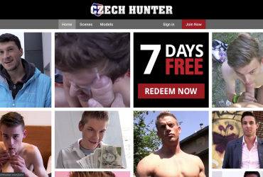 Czechhunter: for me it is one of the best premium gay sites. A huge selection of amateur gay porn. The main plot is that the protagonist stops the handsome boys on the street and offers them money in exchange for outdoor sex. It's very exciting to see these big tits sucking his cock for money. During the fuck he offers them more money to take it in the ass and get it in the mouth or face. For me it's the top!